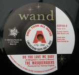 MASQUERADERS - DO YOU LOVE ME BABY (OUTTA SIGHT Numbered Demo) Mint Condition