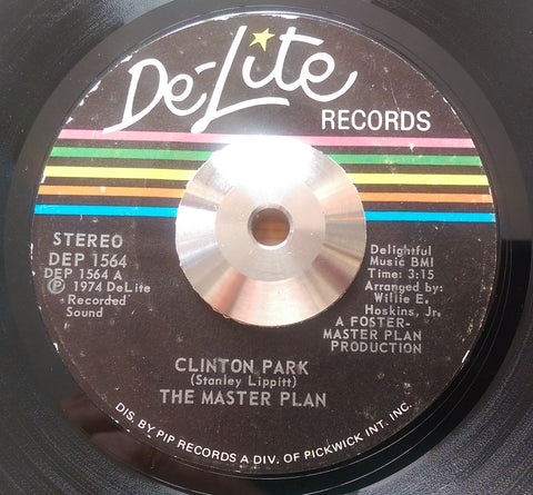 MASTER PLAN - CLINTON PARK (DE-LITE) Ex/Vg+ Condition