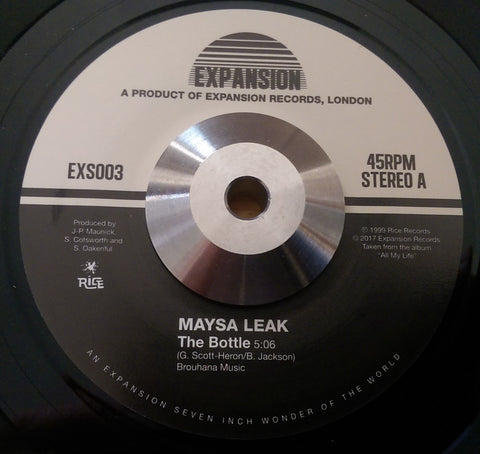 MAYSA LEAK - THE BOTTLE (EXPANSION) Mint Condition