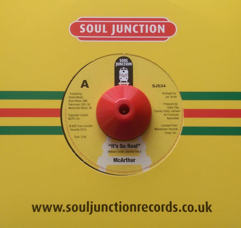 McARTHUR - IT'S SO REAL (SOUL JUNCTION) Mint Condition