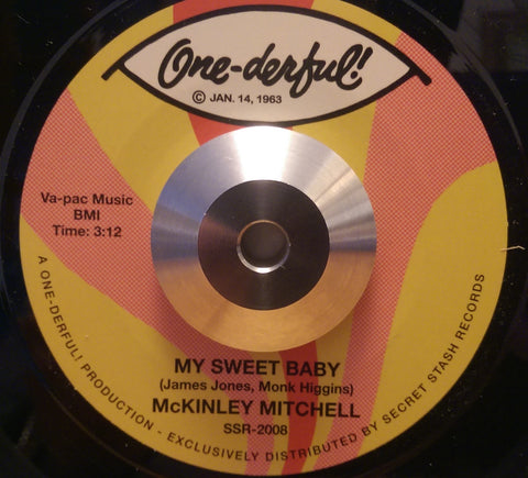 MCKINLEY MITCHELL - MY SWEET BABY (ONE-DERFUL) Mint Condition