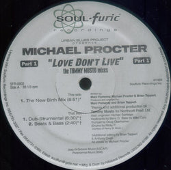MICHAEL PROCTOR - LOVE DON'T LIVE (SOULFURIC) Mint Condition