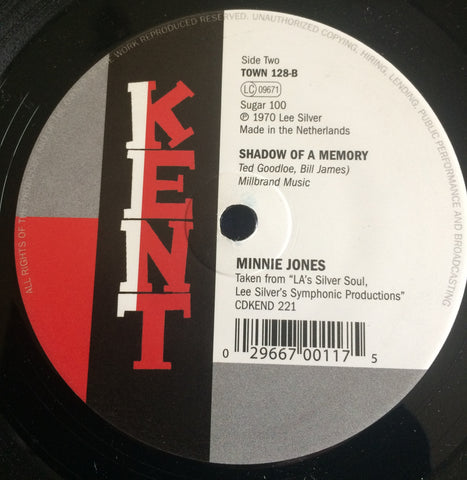 MINNIE JONES - SHADOW OF A MEMORY (KENT TOWN) Mint Condition