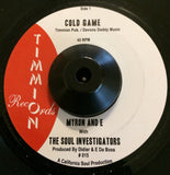 MYRON & E - COLD GAME (TIMMION DEMO) Mint Condition