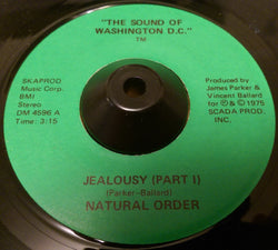 NATURAL ORDER - JEALOUSY (THE SOUND OF WASHINGTON D.C.) Ex Condition