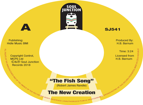 THE NEW CREATION - THE FISH SONG (SOUL JUNCTION) Mint Condition