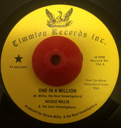 NICOLE WILLIS - ONE IN A MILLLION (TIMMION) Mint Condition