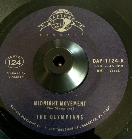 THE OLYMPIANS - MIDNIGHT MOVEMENT (DAPTONE) Mint Condition
