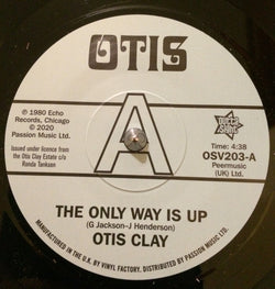OTIS CLAY - ONLY WAY IS UP (OUTTA SIGHT) Mint Condition