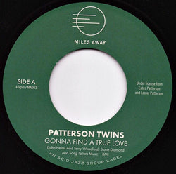 PATTERSON TWINS - GONNA FIND A TRUE LOVE (MILES AWAY) Mint Condition