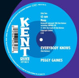 PEGGY GAINES - WHEN THE BOY THAT YOU LOVE (KENT CITY) Mint Condition