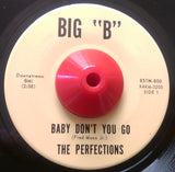 PERFECTIONS - SO LONELY (BIG 'B') Ex Condition
