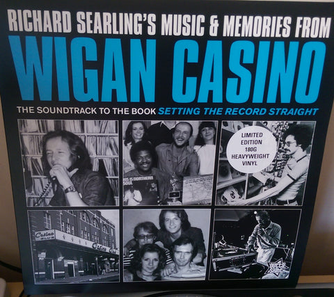 RICHARD SEARLING'S MUSIC & MEMORIES FROM WIGAN CASINO (OUTTA SIGHT LP) Mint Condition
