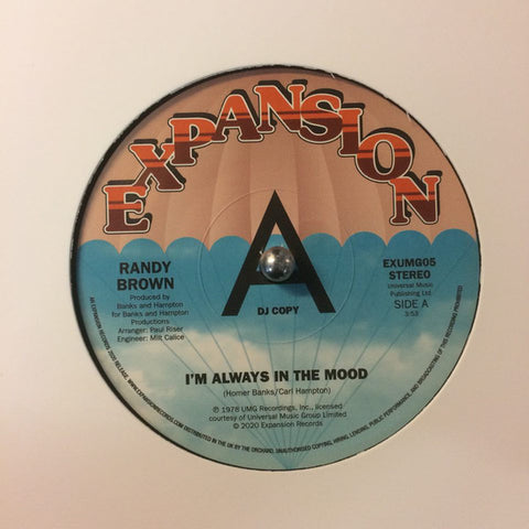 RANDY BROWN - I'M ALWAYS IN THE MOOD (EXPANSION) Mint Condition