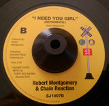 ROBERT MONGOMERY - I NEED YOU GIRL (SOUL JUNCTION) Mint Condition