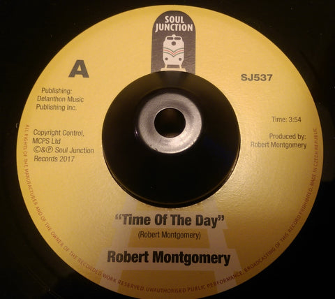 ROBERT MONTGOMERY - TIME OF THE DAY (SOUL JUNCTION) Mint Condition