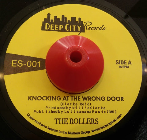 THE ROLLERS - KNOCKING AT THE WRONG DOOR (DEEP CITY) Mint Condition