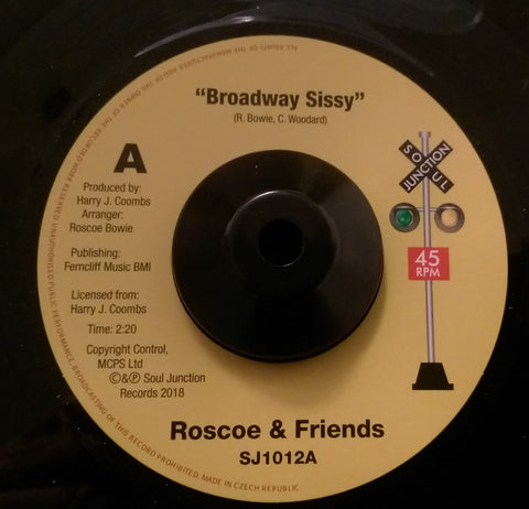 ROSCOE & FRIENDS - BROADWAY SISSY (SOUL JUNCTION) Mint Condition
