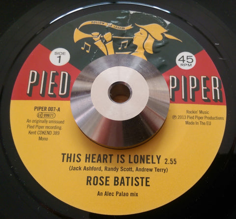 ROSE BATISTE b/w MIKKI FARROW (PIED PIPER) Mint Condition