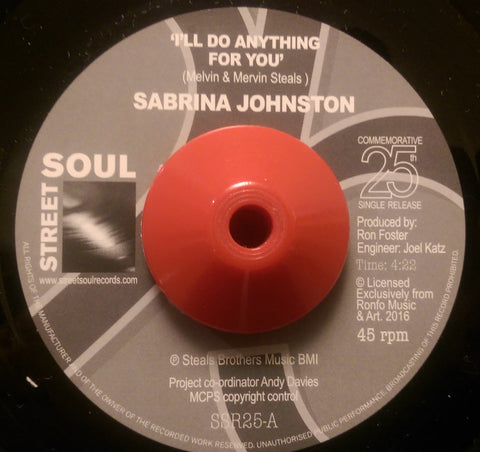 SABRINA JOHNSON - I'LL DO ANYTHING FOR YOU (STREET SOUL) Mint Condition