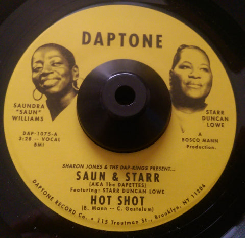 SAUN AND STARR - HOT SHOT (DAPTONE) Mint Condition