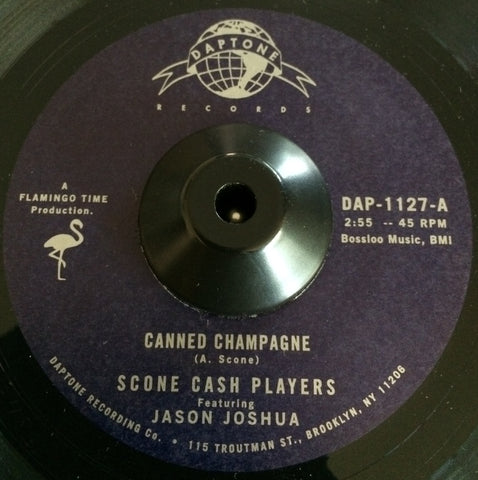 SCONE CASH PLAYERS - CANNED CHAMPAGNE (DAPTONE) Mint Condition