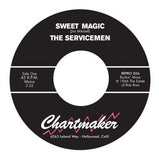SERVICEMEN - SWEET MAGIC b/w CONNIE (REPRO) Mint Condition