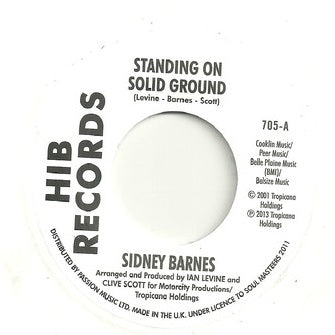 SIDNEY BARNES - STANDING ON SOLID GROUND (INFERNO) Mint Condition