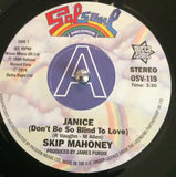 SKIP MAHONEY - JANICE (OUTTA SIGHT) Mint Condition