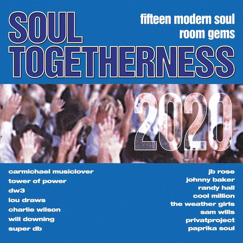 VARIOUS ARTISTS - SOUL TOGETHERNESS IEXPANSION) Sealed Copy