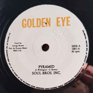 SOUL BROS INC. - PYRAMID (GOLDEN EYE) Mint Condition