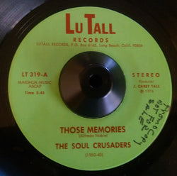 SOUL CRUSADERS - THOSE MEMORIES (LU TALL) Ex Condition