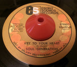 SOUL GENERATION - KEY TO YOUR HEART (EBONY SOUND) Ex Condition