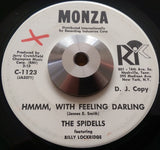 SPIDELLS - HMMM, WITH FEELING DARLING (MONZA w/d) Vg+ Condition