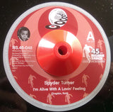 SPYDER TURNER - I CAN'T WAIT TO SEE MY BABY'S FACE (RECORD SHACK) Mint Condition