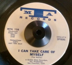 SPYDERS - I CAN TAKE CARE OF MYSELF ( MTA DEMO) Ex Condition