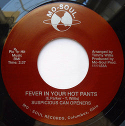SUSPICIOUS CAN OPENERS - FEVER IN YOUR HOT PANTS  (NUMERO) Mint Condition