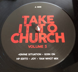VARIOUS ARTISTS - TAKE IT TO CHURCH (RIOT RECORDS) Mint Condition