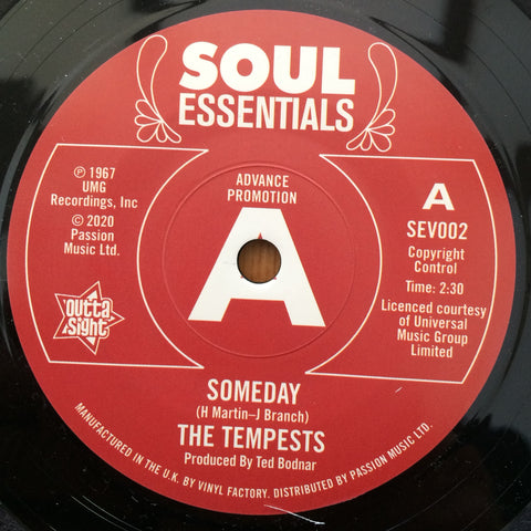 TEMPESTS - SOMEDAY (OUTTA SIGHT DEMO) Mint Condition