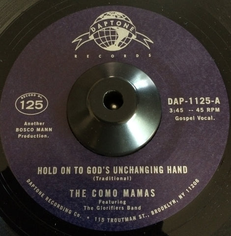 THE COMO MAMAS - HOLD ON TO GOD'S UNCHANGING HAND (DAPTONE) Mint Condition