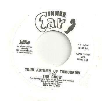 THE CROW - YOUR AUTUMN OF TOMORROW (INFERNO) Mint Condition