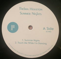 THELMA HOUSTON - SUMMER NIGHTS ( PRESERVATION RECORDS) Mint Condition