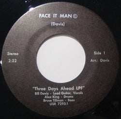 THREE DAYS AHEAD - FACE IT MAN (NUMERO) Mint Condition