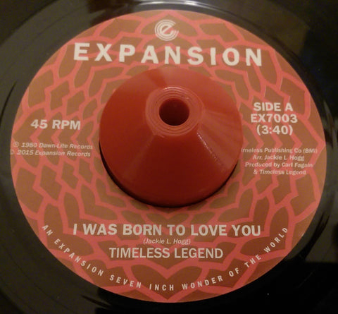 TIMELESS LEGEND - I WAS BORN TO LOVE YOU (EXPANSION) Mint Condition