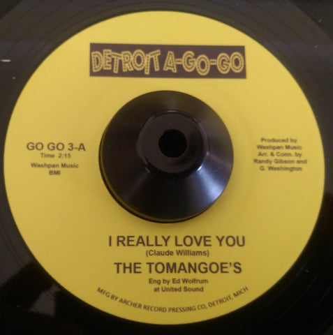 TOMANGOES - I REALLY LOVE YOU (DETROIT A-GO-GO) Mint Condition