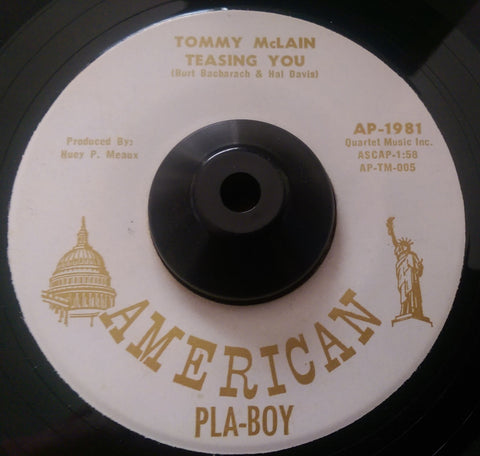 TOMMY McLAIN - TEASIN' YOU (AMERICAN PLA-BOY) Ex Condition