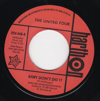 UNITED FOUR - HONEY PLEASE STAY (OUTTA SIGHT) Mint Condition