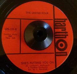 UNITED FOUR - SHE'S PUTTING YOU ON (HARTHON) Ex Condition