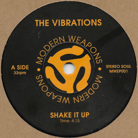 VIBRATIONS - SHAKE IT UP (MODERN WEAPONS) Mint Condition
