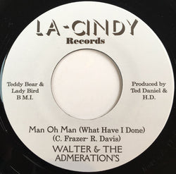 WALTER & THE ADMERATION'S - MAN OH MAN (NUMERO) Mint Condition